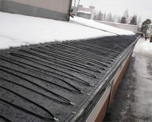 Системы антиобледенения крыш