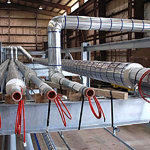 Кабель для промышленного обогрева труб